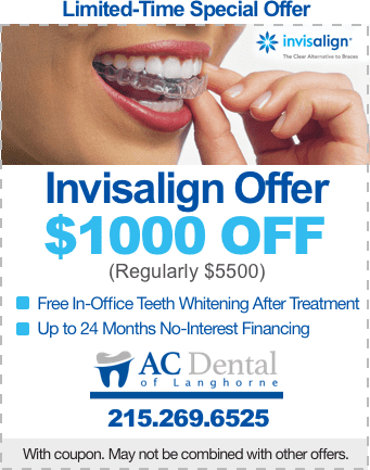 Invisalign Offer $1000 OFF